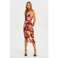 COOPER STREET DUCHESS DRAPE DRESS