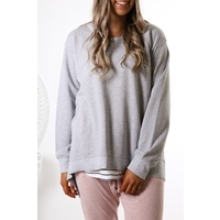3rd Story Newhaven Sweater - Grey Marle