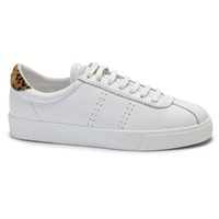 Superga 2843 Comflealeopardu - White/Animal