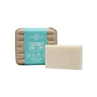 Earth Love Exfoliating Body Bar Coconut & Lime 100g