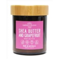 EARTH LOVE 200G BODY BUTTER - SHEA BUTTER AND GRAPEFRUIT