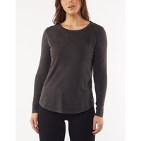 Silent Theory - Kara Long Sleeve-Washed Black
