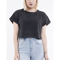 Silent Theory Crop Bite The Bullet Tee