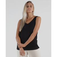 Betty Basics - Dallas Reversible Tank Black