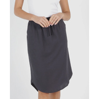 Betty Basics-Carson Skirt-Indi Grey