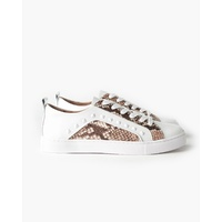 Walnut Hatch Leather Sneaker
