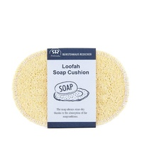 Redecker-Loofah Oval Soap Cushion+Sponge